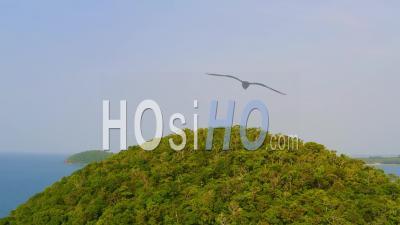 Plage Déserte Sur Koh Mak - Vidéo Aérienne Par Drone