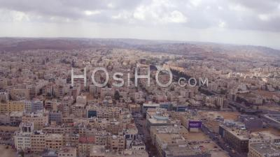 2019 - High Aerial Over The City Of Amman, Jordan. - Drone Point Of View