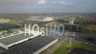 Exhibition Park Of Bordeaux And The Matmut Atlantique Stadium - Video Drone Footage