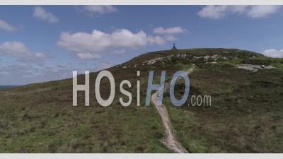 Les Monts D'arree En Bretagne, France - Vidéo Par Drone