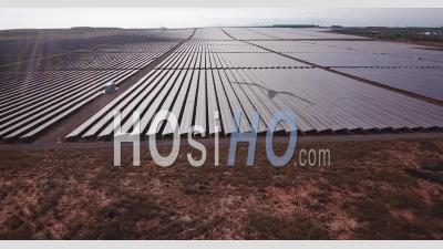 Revealing The Impressive Size Of A Solar Farm In Vietnam - Video Drone Footage