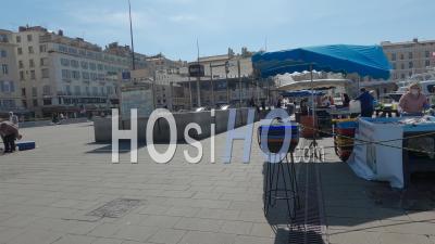 Marseille Au Jour 3 Du Confinement De Covid-19, France - Vidéo Au Sol