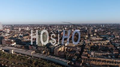 North East Londres, Royaume-Uni - Vidéo Drone