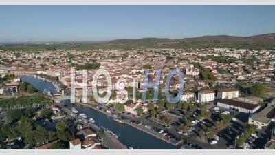 Frontignan, Filmé Par Drone En été