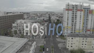 Rues De Pointe A Pitre Pendant Le Confinement - Vidéo Drone