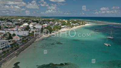 Beach Of Sainte-Anne , Guadeloupe - Aerial Photography