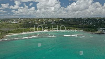 Beach Of Saint-Felix , Guadeloupe - Aerial Photography