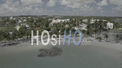 Plage De Sainte-Anne, Guadeloupe Pendant Covid19 - Vidéo Par Drone