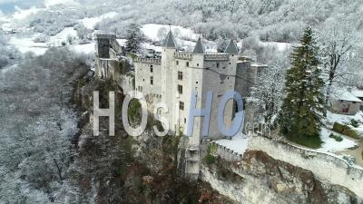 Château De Miolans Vue Par Drone