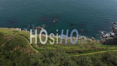 Belle île En Mer Vue Par Drone