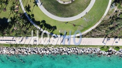 Belle Miami Beach / South Beach - Vidéo Par Drone Vidéo
