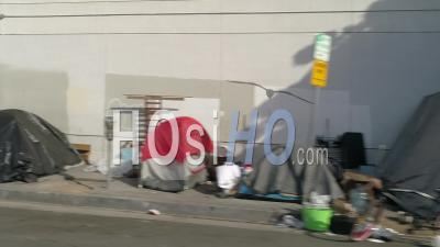 Magasins Fermés Pendant La Crise De Cobvid19, Los Angeles, États-Unis