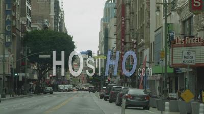 Downtown L.A. During Covid-19 Shutdown