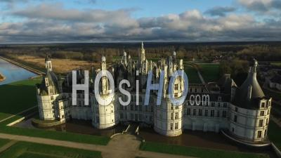 The Majestic Chateau De Chambord - Video Drone Footage