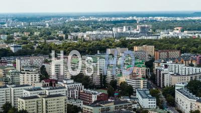 Zoliborz, Varsovie, Warszawa Vidéo Drone