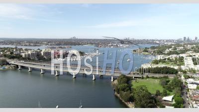 Iron Cove Et Rozelle Travelling - Vidéo Drone
