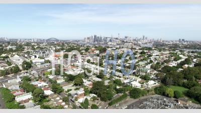 Rozelle In Sydney Flyover - Vidéo Drone