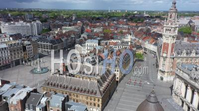 Lille Aerial Videos, photos by drone and timelapses of Lille from above