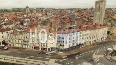 Vidéo Par Drone De La Rochelle Lors De L'épidémie De Covid-19