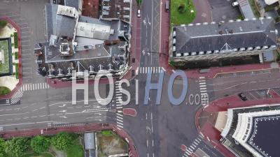 Départ Du Défilé Du 1er Mai - Séquence Vidéo Du Drone