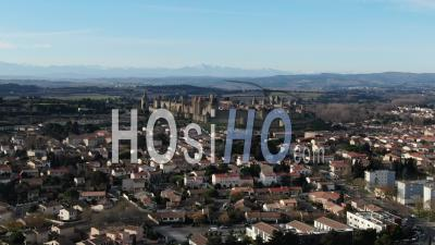 City Of Carcassonne, Drone Point Of View