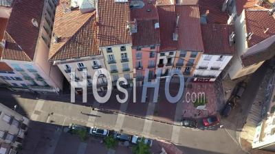 Place Rigaud à Perpignan Pendant Covid-19 - Vidéo Aérienne Par Drone