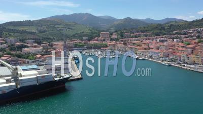Port Maritime De Port-Vendres Pendant Covid-19, Vidéo Par Drone