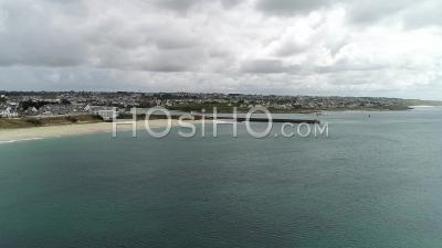Entree Port Audierne - Vidéo Aérienne Par Drone