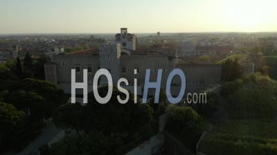 Palais Des Rois De Majorque, Perpignan - Vidéo Drone
