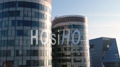 Quartier Des Affaires De Paris La Défense, Vidéo Drone