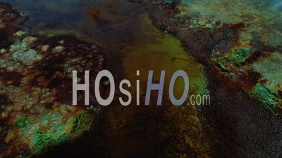 Dallol Dans La Dépression De Danakil Au Nord De L'Éthiopie - Séquence Vidéo Drone