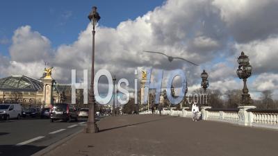 Alexander 3 Bridge In Paris, France