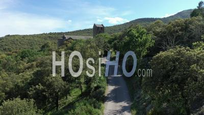 Prieure De Serrabona - Vidéo Par Drone