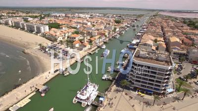 Grau-Du-Roi Port - Video Drone Footage