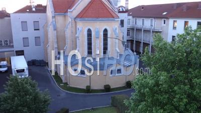 Basilique Fourvière Vu Par Drone
