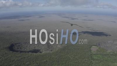 Craters In Santa Cruz Island 2 - Video Drone Footage