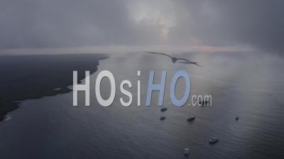 Puerto Ayora In Santa Cruz Island 3 - Video Drone Footage