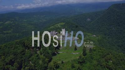 Vue Aérienne De La Forteresse D'anocopia - Vidéo Par Drone