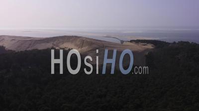 Vue Aérienne Dune Du Pilat, Bassin D'arcachon, France - Vidéo Par Drone