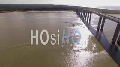 Pont De L'ile De Noirmoutier Vidéo Drone