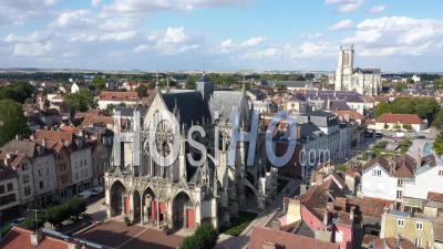 Basilique Saint-Urbain De Troyes - Vidéo Par Drone