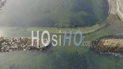 Pointe De Larmor-Baden Et L'ile De Berder - Vidéo Drone