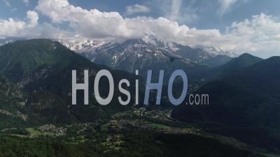 Massif Du Mont Blanc - Vidéo Par Drone