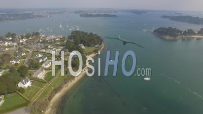Port Blanc Et L'ile Aux Moines Vidéo Drone
