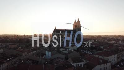 Basilique Saint-Nicolas-De-Port - Lorraine - Vidéo Par Drone