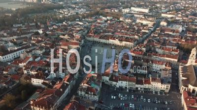 Place Duroc In Pont-A-Mousson - Video Drone Footage