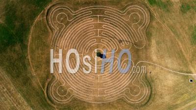 Willen Lake Maze, Milton Keynes - Vidéo Drone
