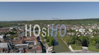 The City Of Verdun In Summer - Video Drone Footage