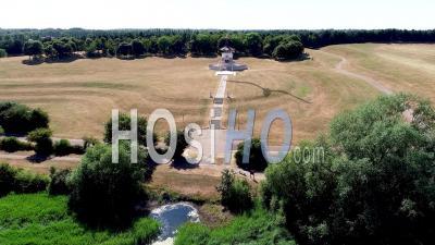 Peace Pagoda, Willen Lake, Milton Keynes Filmed By Drone