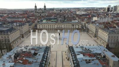 Place Stanislas - Nancy - Video Drone Footage